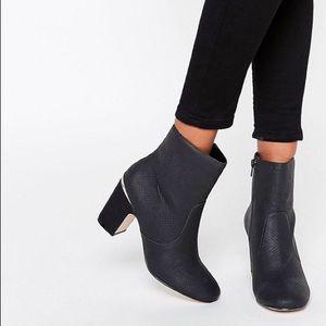 ASOS Ramero Metal Detail Ankle Boot, Size 8